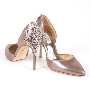 """NWT Badgley Mischka """"Karma II"""" heels size 8"""